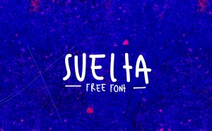 SUELTA Free Font - script