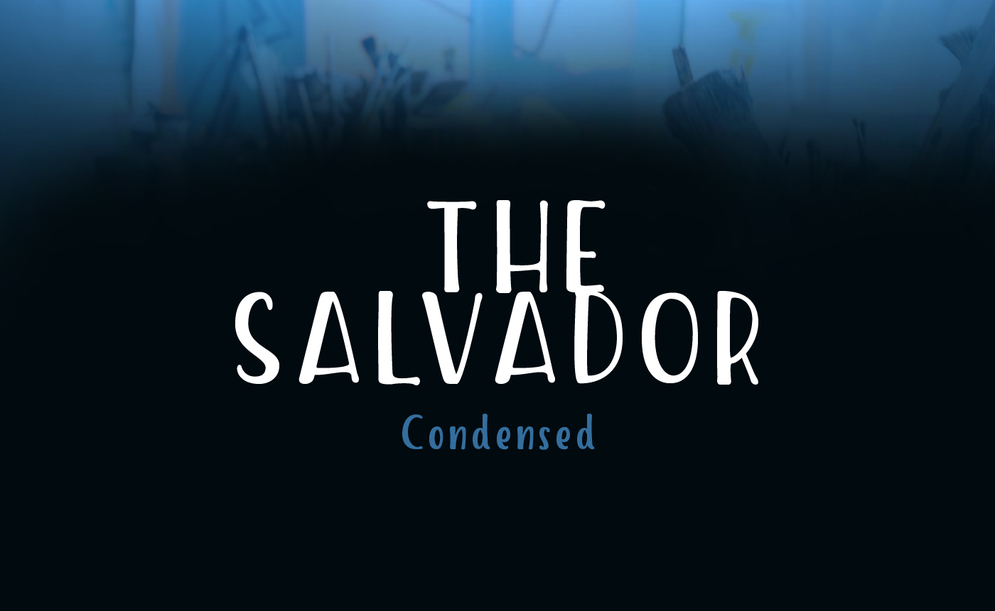 The Salvador Free Typeface - script