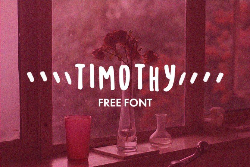 Timothy Free Font - script