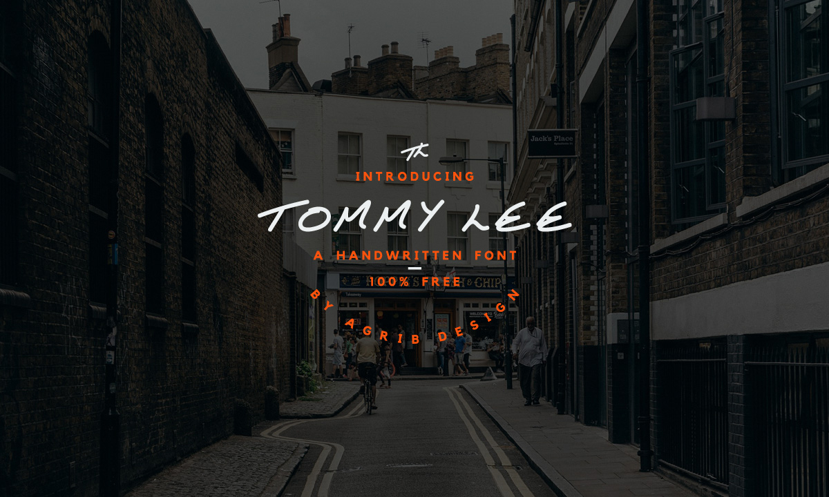 Tommy Lee Free Font - script