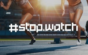 Stopwatch Free Typeface - serif