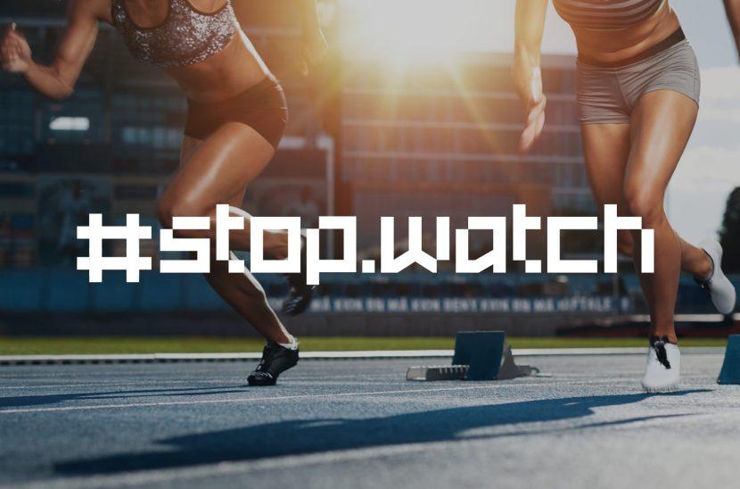 Stopwatch Free Typeface - decorative