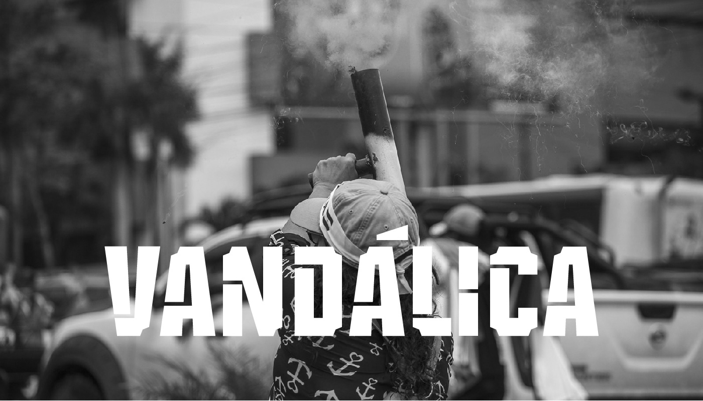 Vandálica Free Font - decorative-display