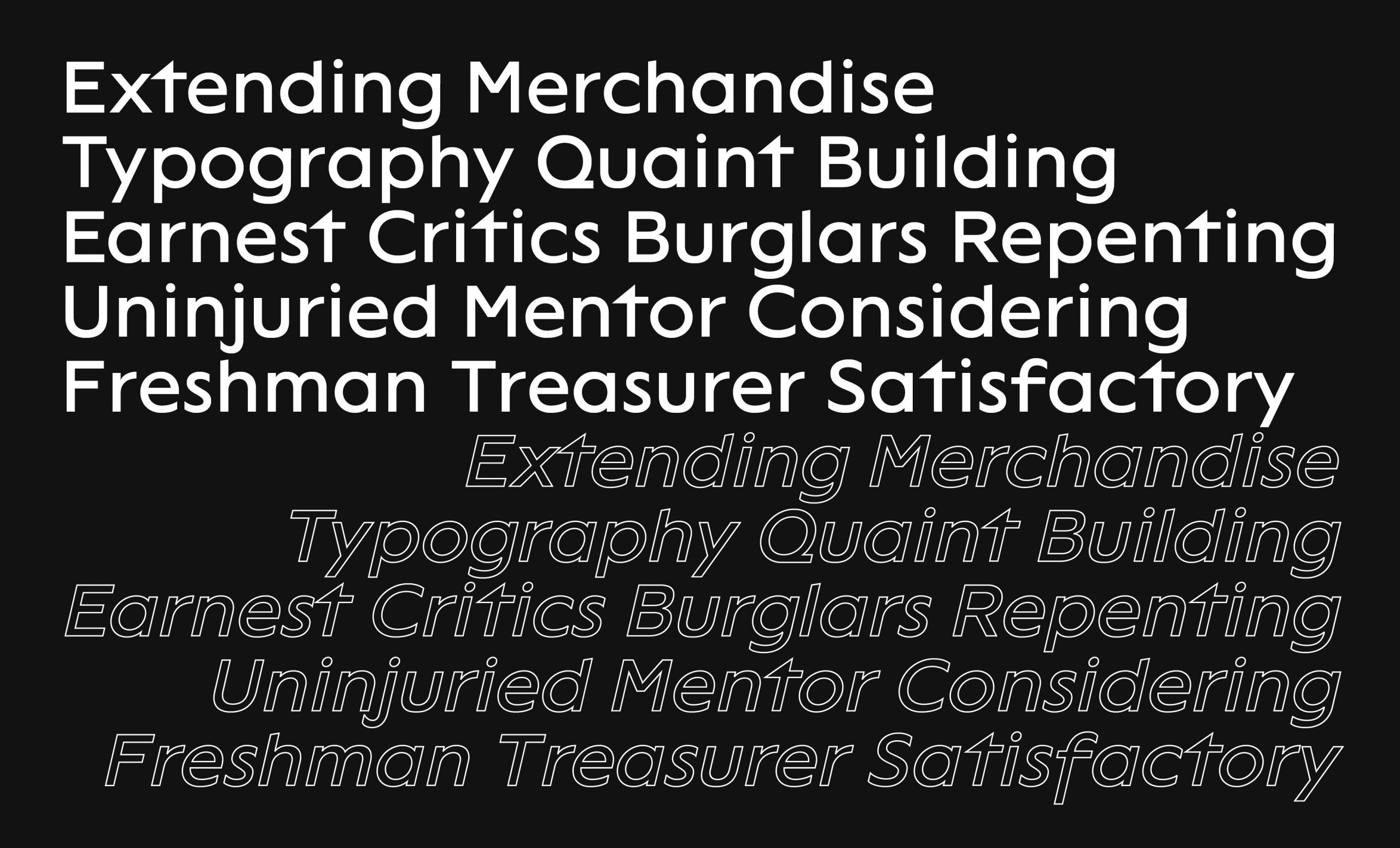 VTF Lack Free Font - sans-serif, cyrillic