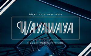Wayawaya Free Font -