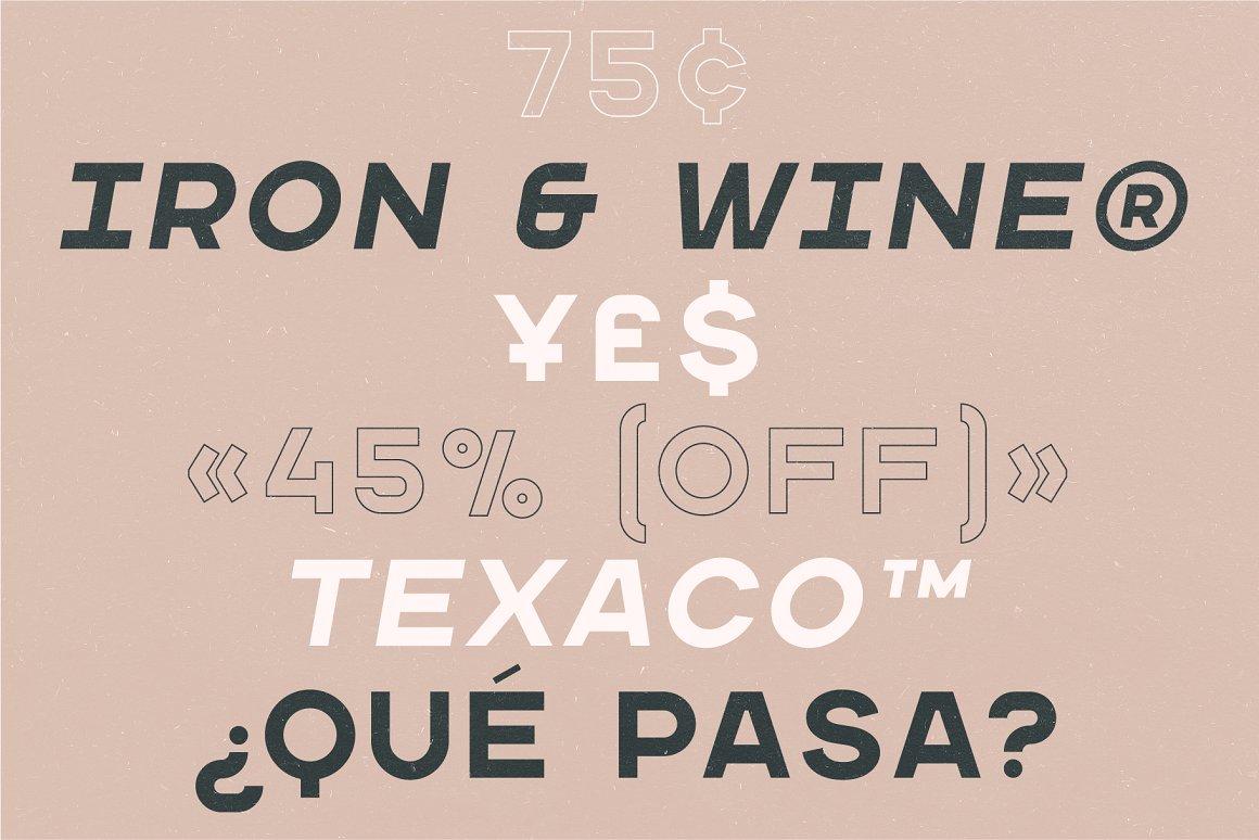 Wichita Free Font - sans-serif