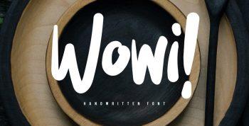 Wowi Free Font -