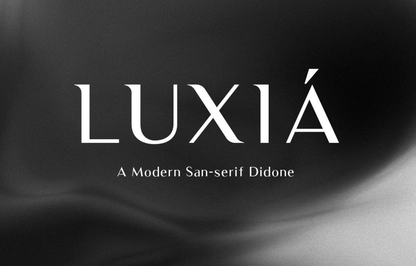 Luxia Free Typeface