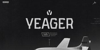 YEAGER Free Typeface - sans-serif