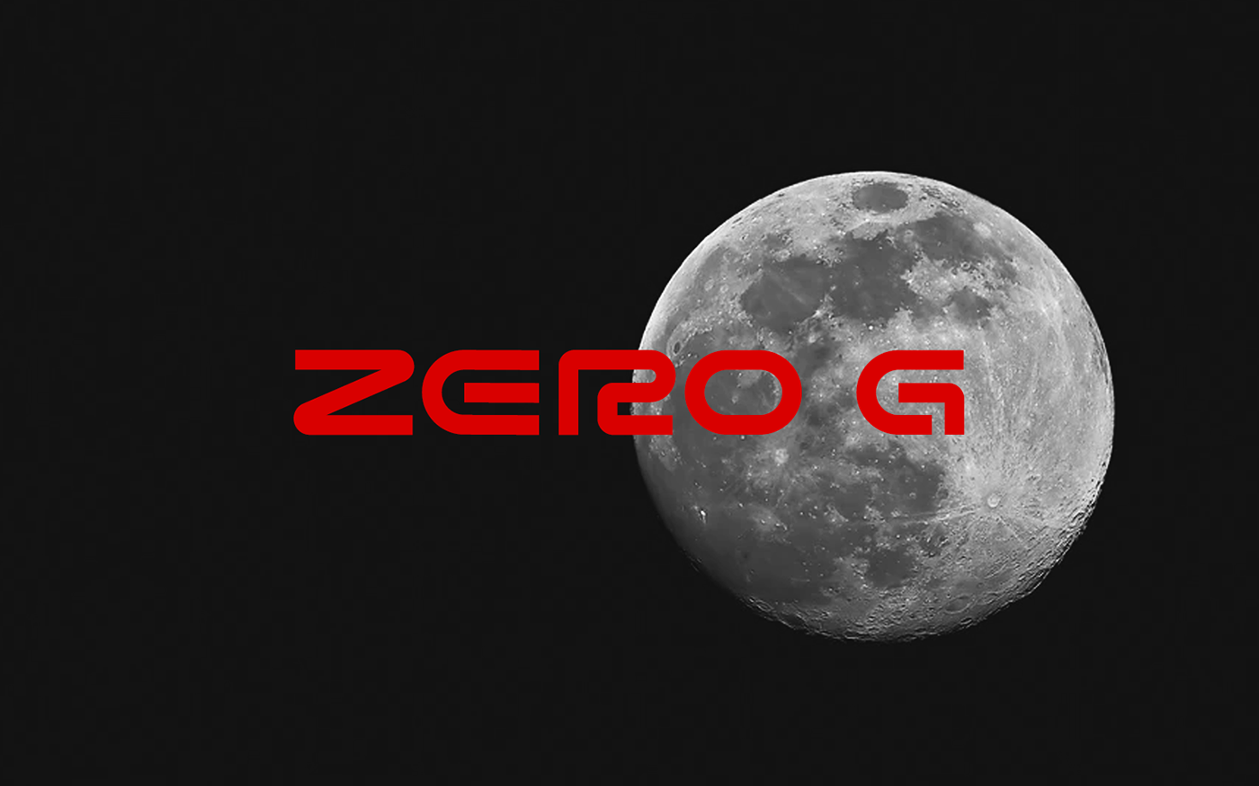 Zero G Free Font - decorative-display