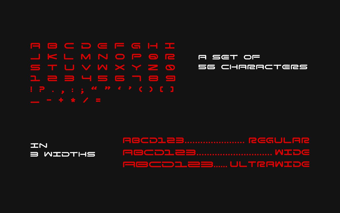 Zero G Free Font - decorative-display