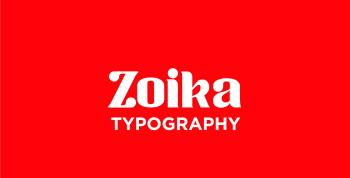 ZOIKA Free Font - serif