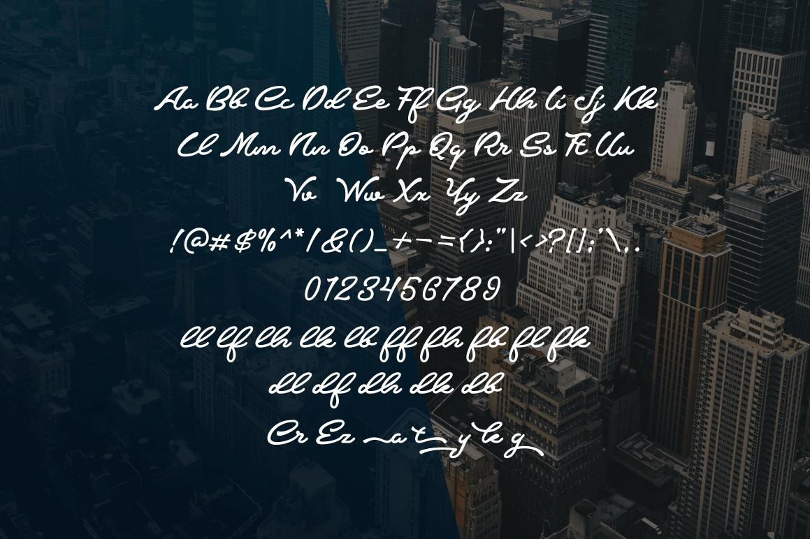 Crumble Free Script Font - script