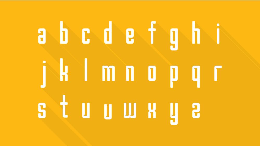 Borg Free Font - sans-serif