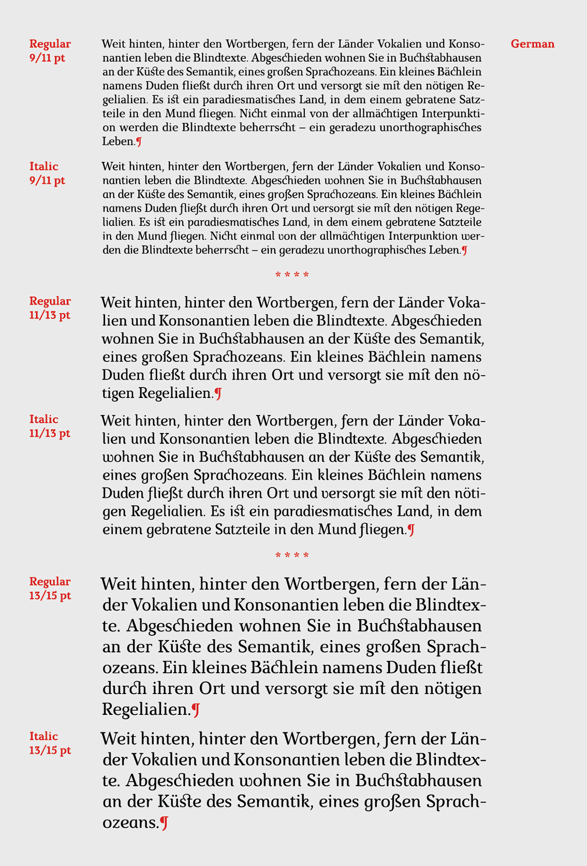 Marta Free Font - serif