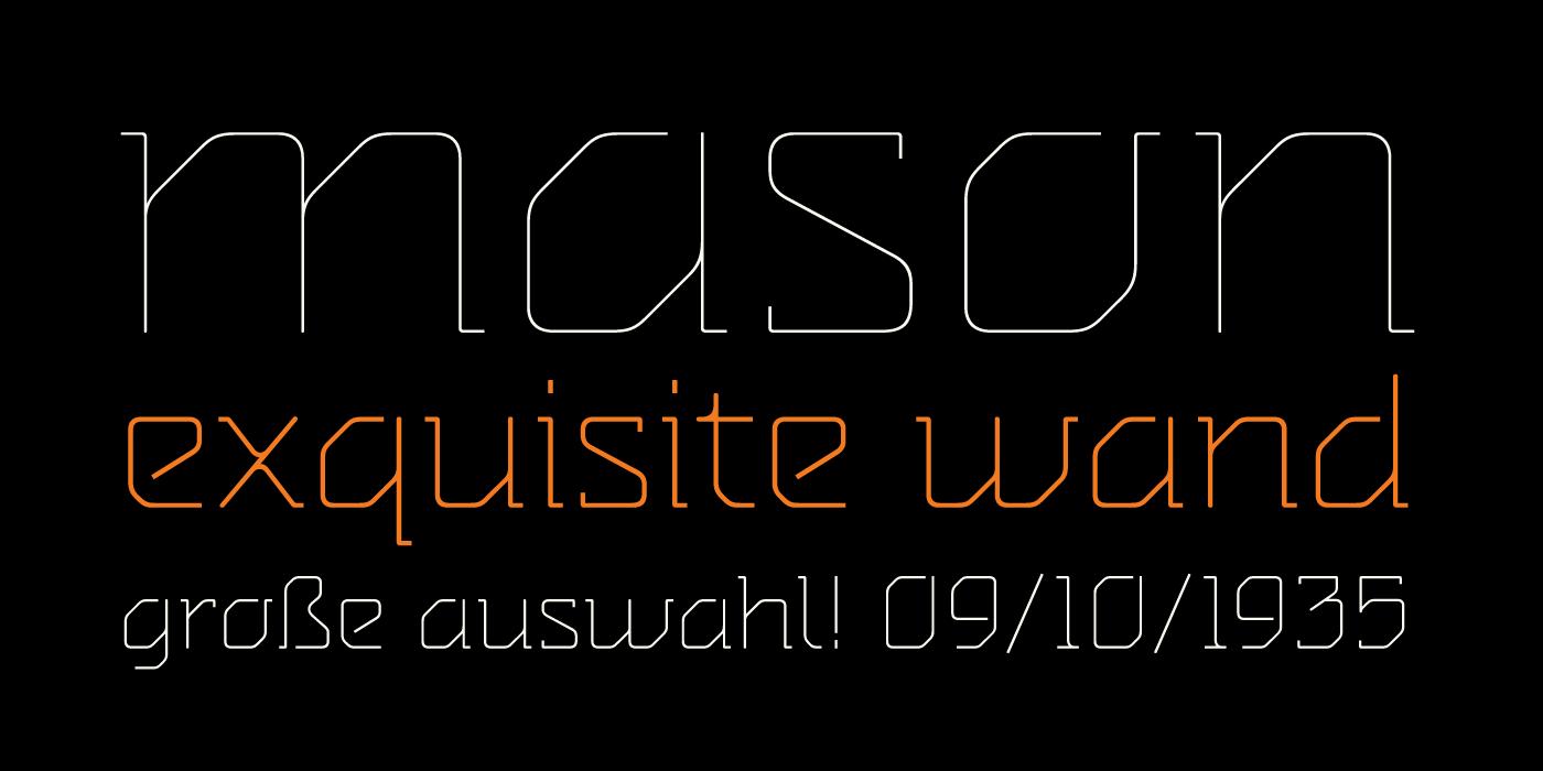 Agrafa Free Font - serif