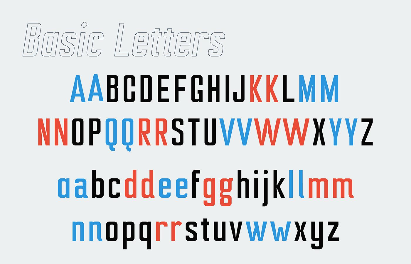 Ampero Free Font - sans-serif