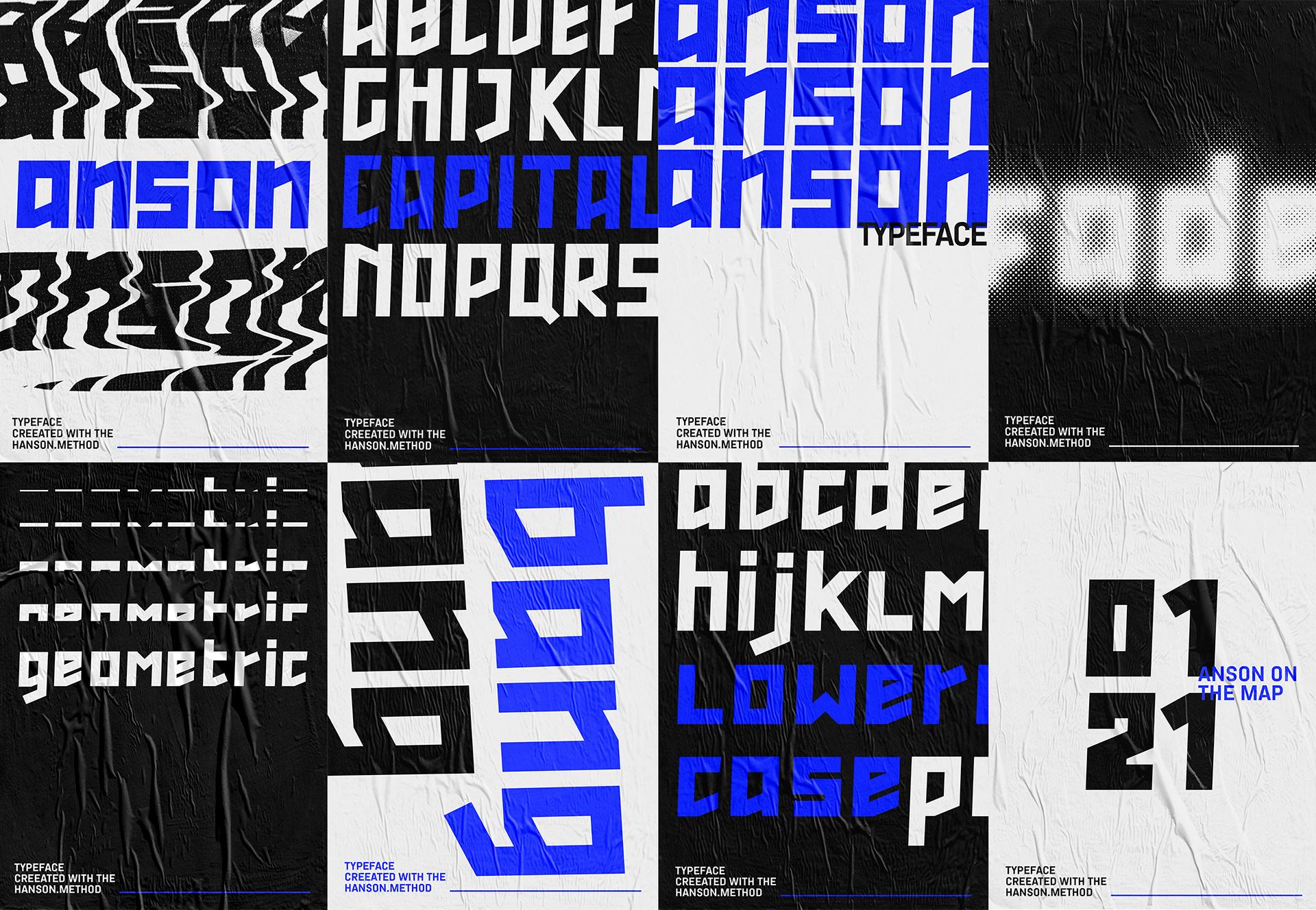 ANSON Free Typeface - sans-serif