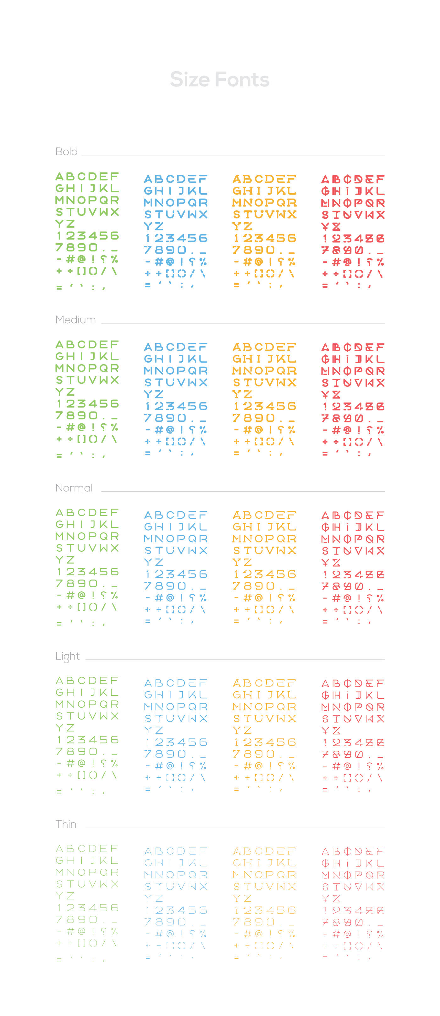 AOOX Free Typeface - serif, sans-serif