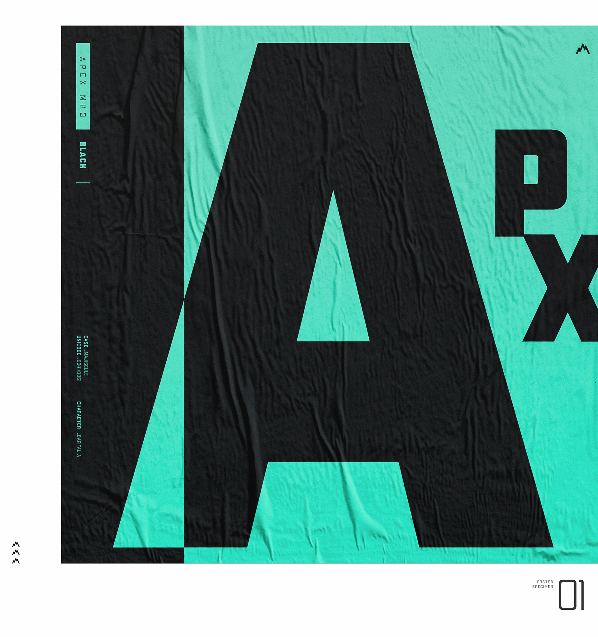 APEX MK3 Free Font - sans-serif