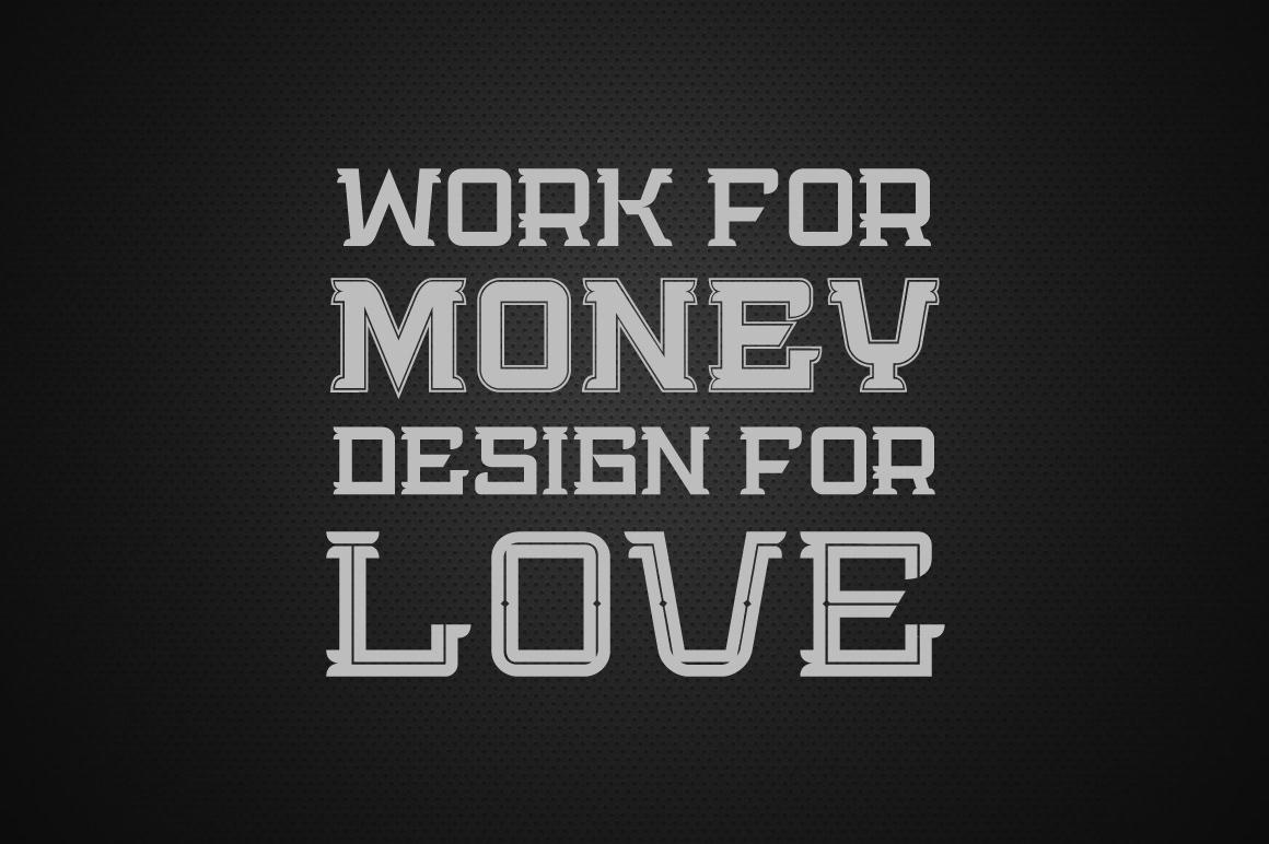 Bedengkang Free Font - slab-serif