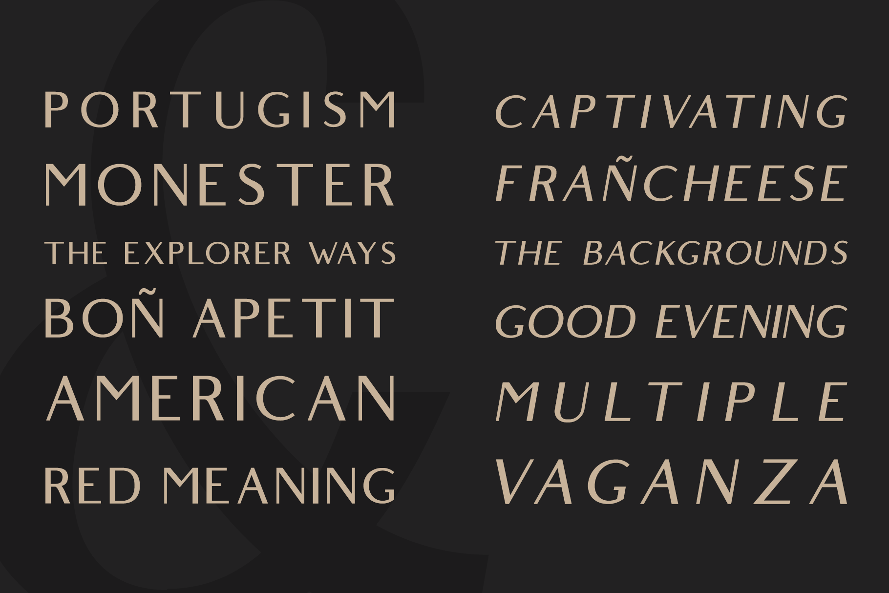 Belgium Free Font - sans-serif