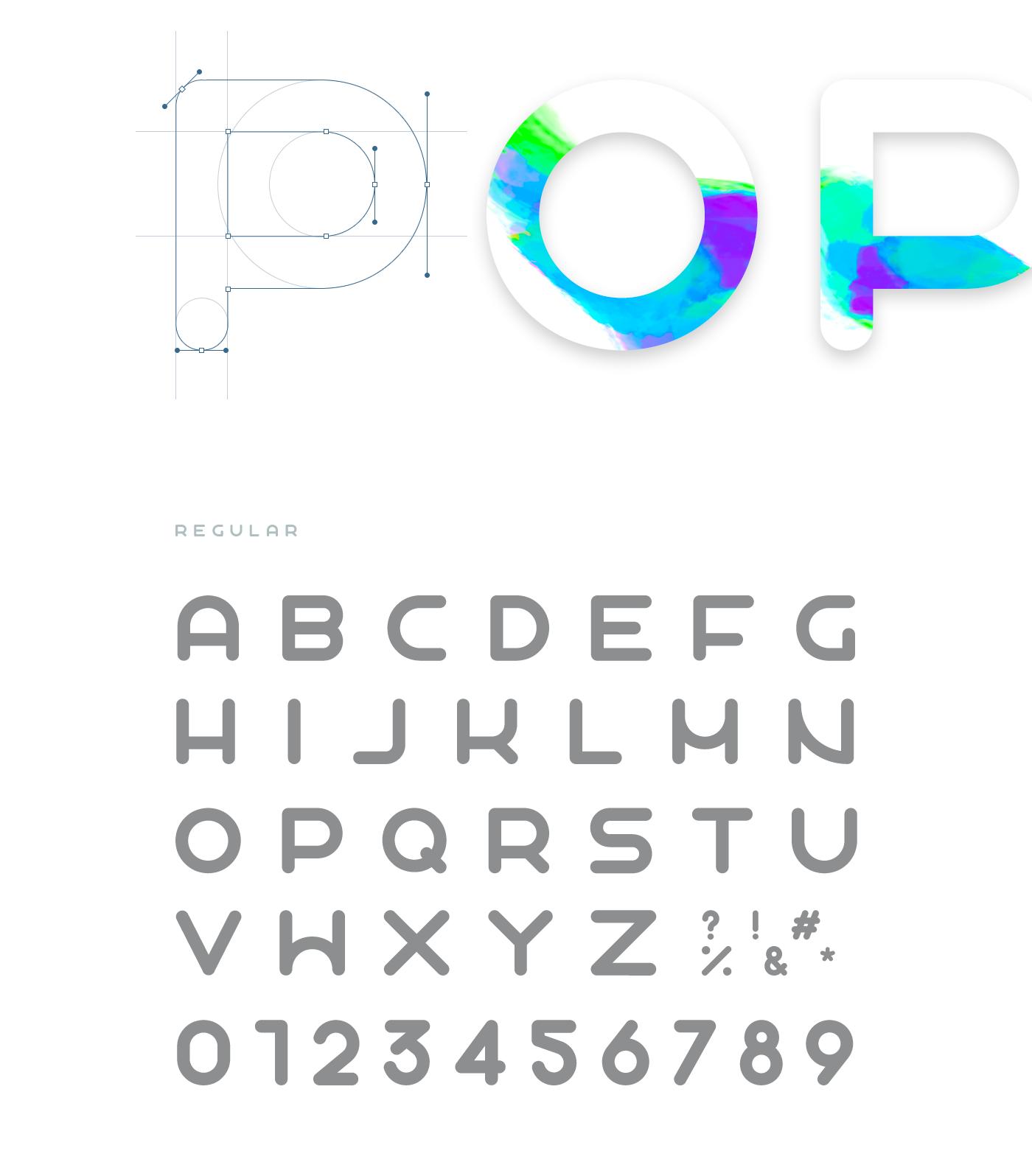 Popo Free Font - sans-serif