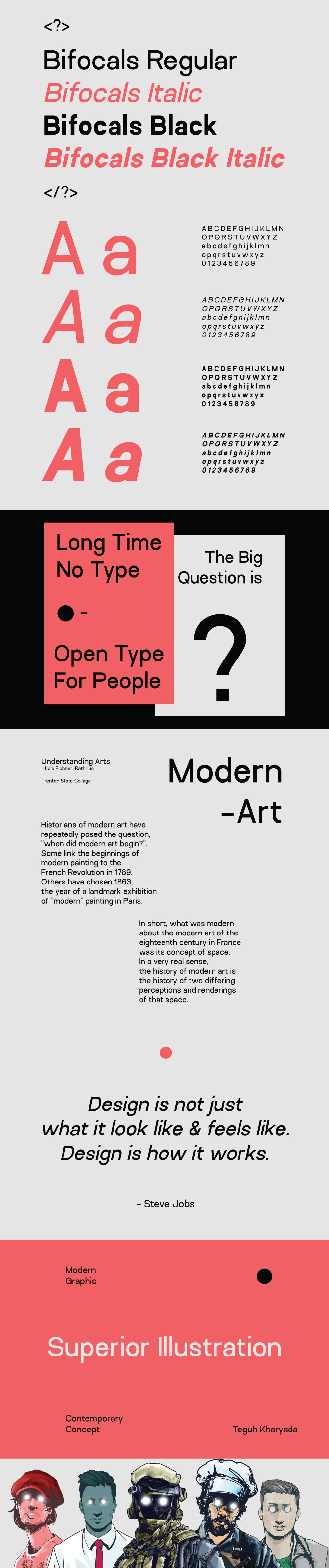 Bifocals Grotesk Free Font Family - sans-serif