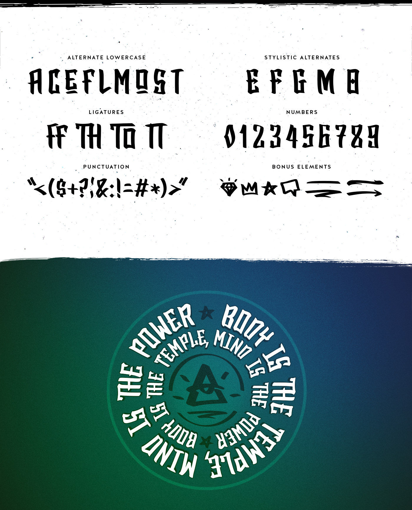 BlackTop Free Font - script
