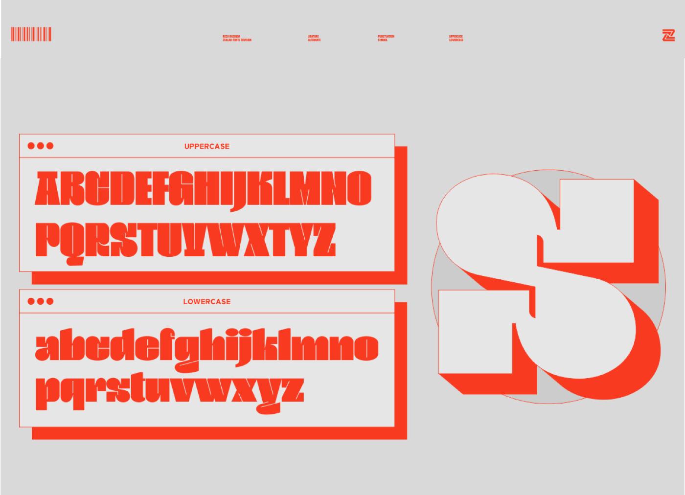 BOGAM Free Font - decorative-display