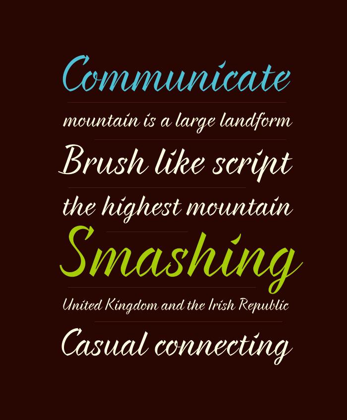 Braxton Free Font - script