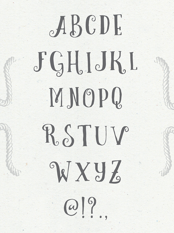 Curely handmade Free Font - script