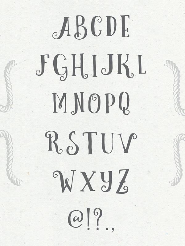 Curely handmade Free Font - script