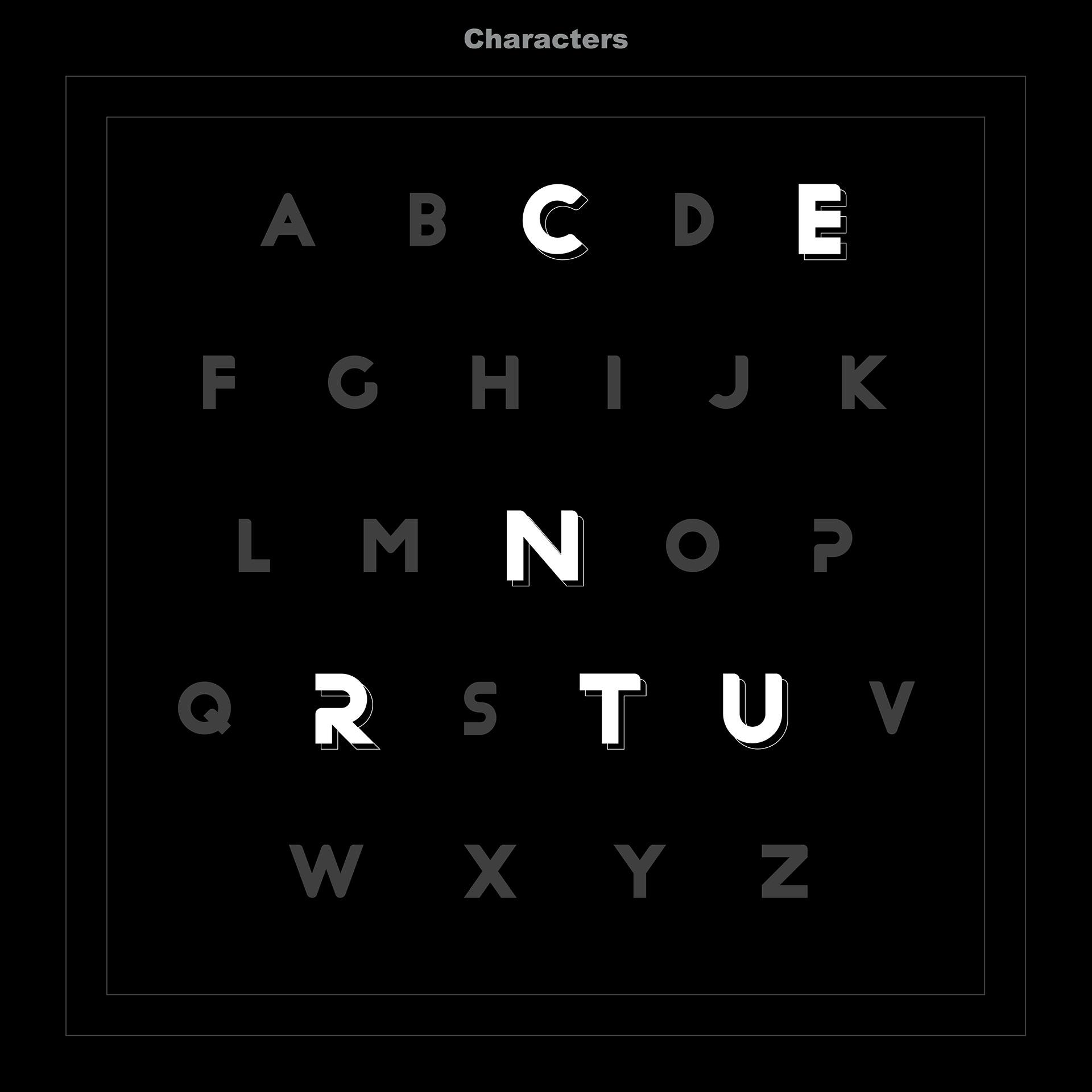 CURRENT Free Font - sans-serif