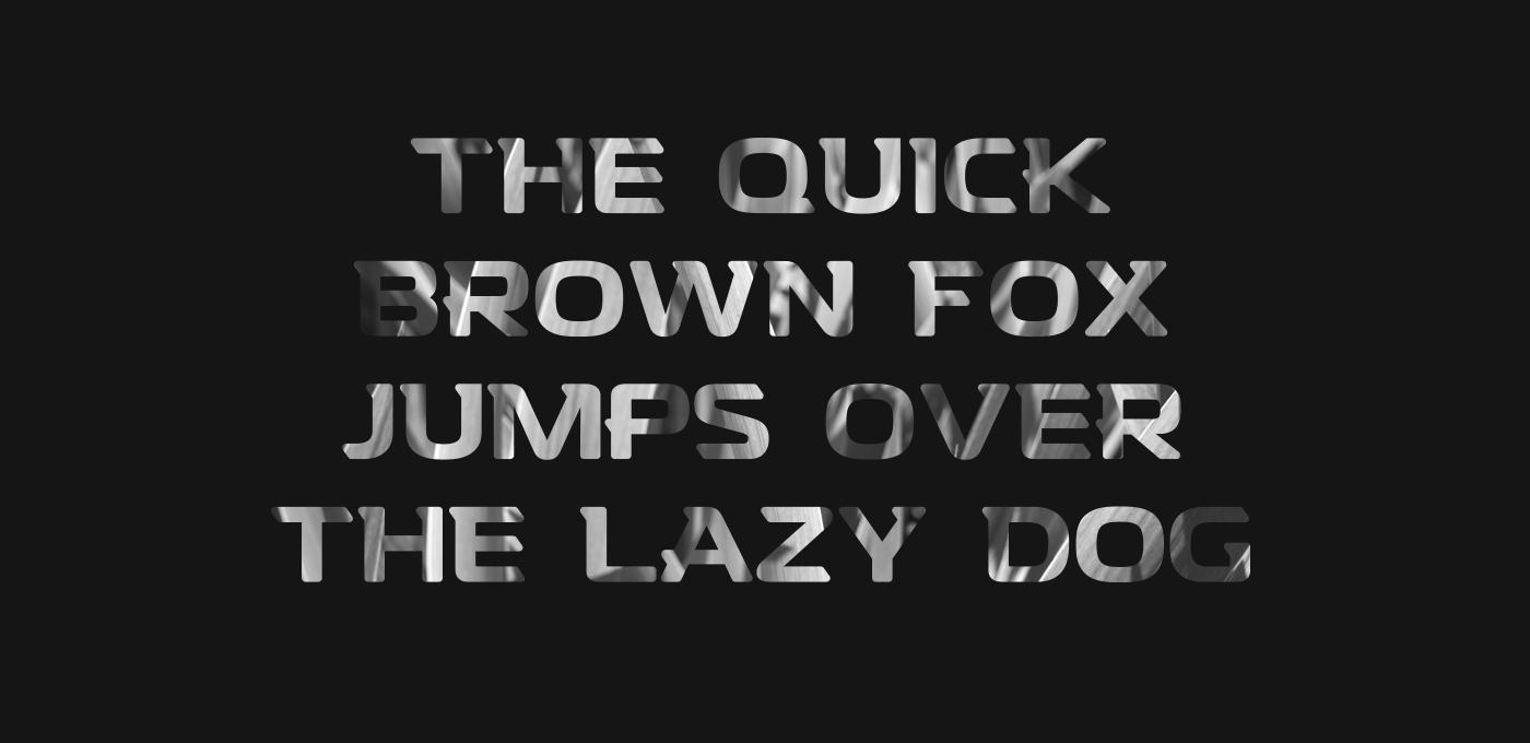 Denzel Free Font - sans-serif