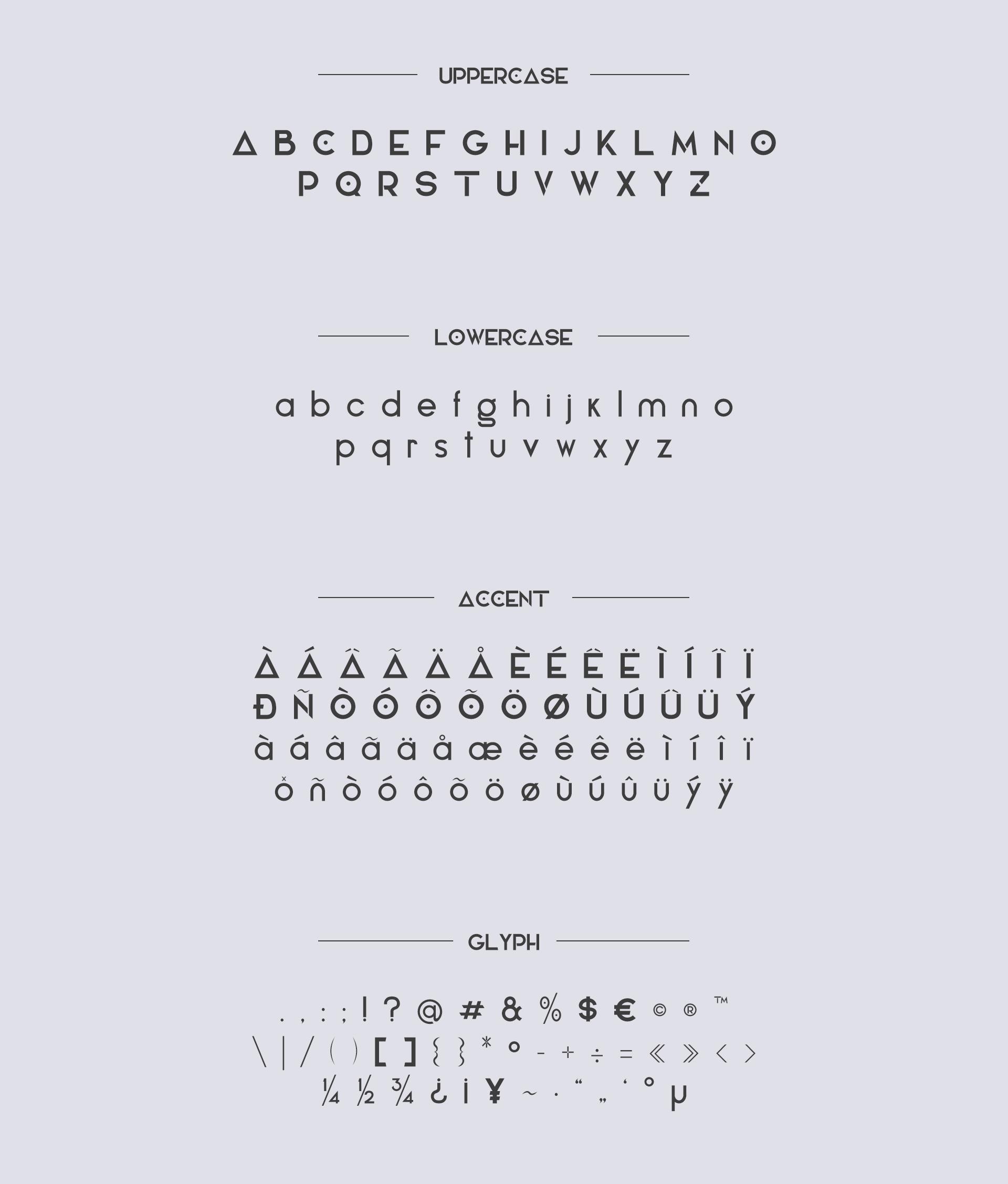 Elianto Free Font - sans-serif, decorative