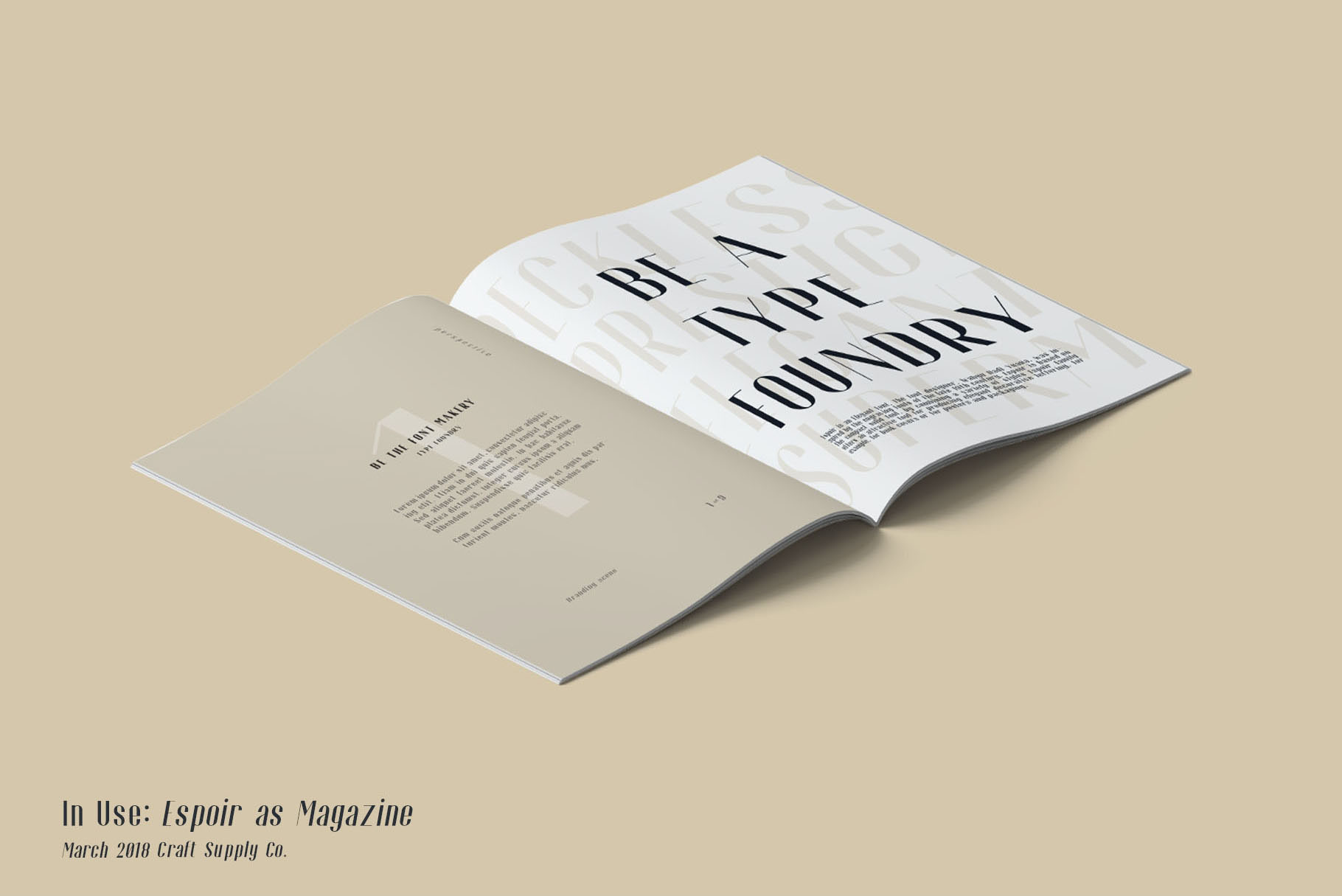 Espoir Free Font Family - sans-serif