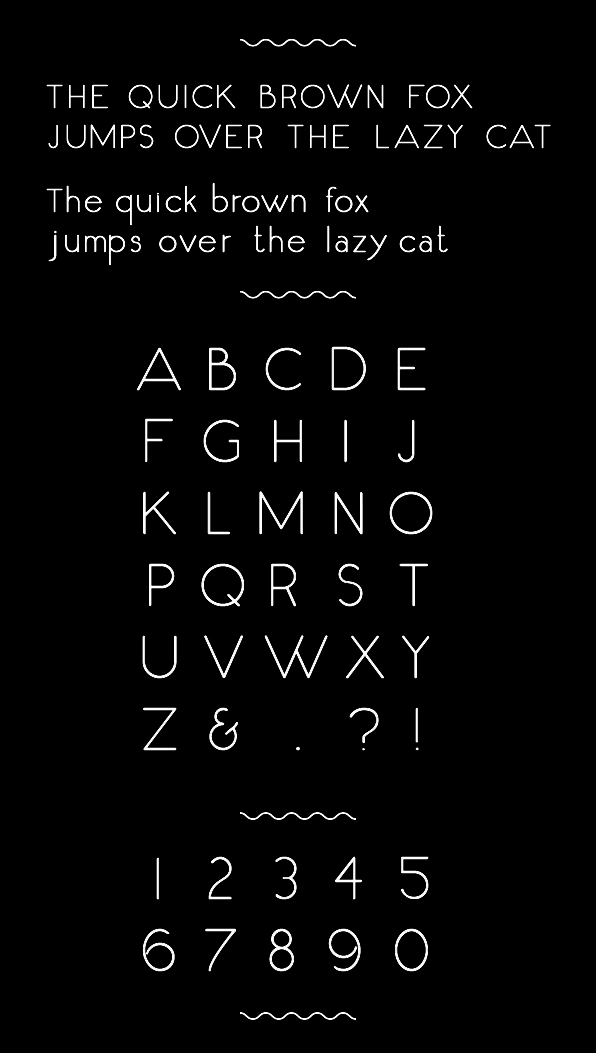Fox & Cat Free Font - sans-serif