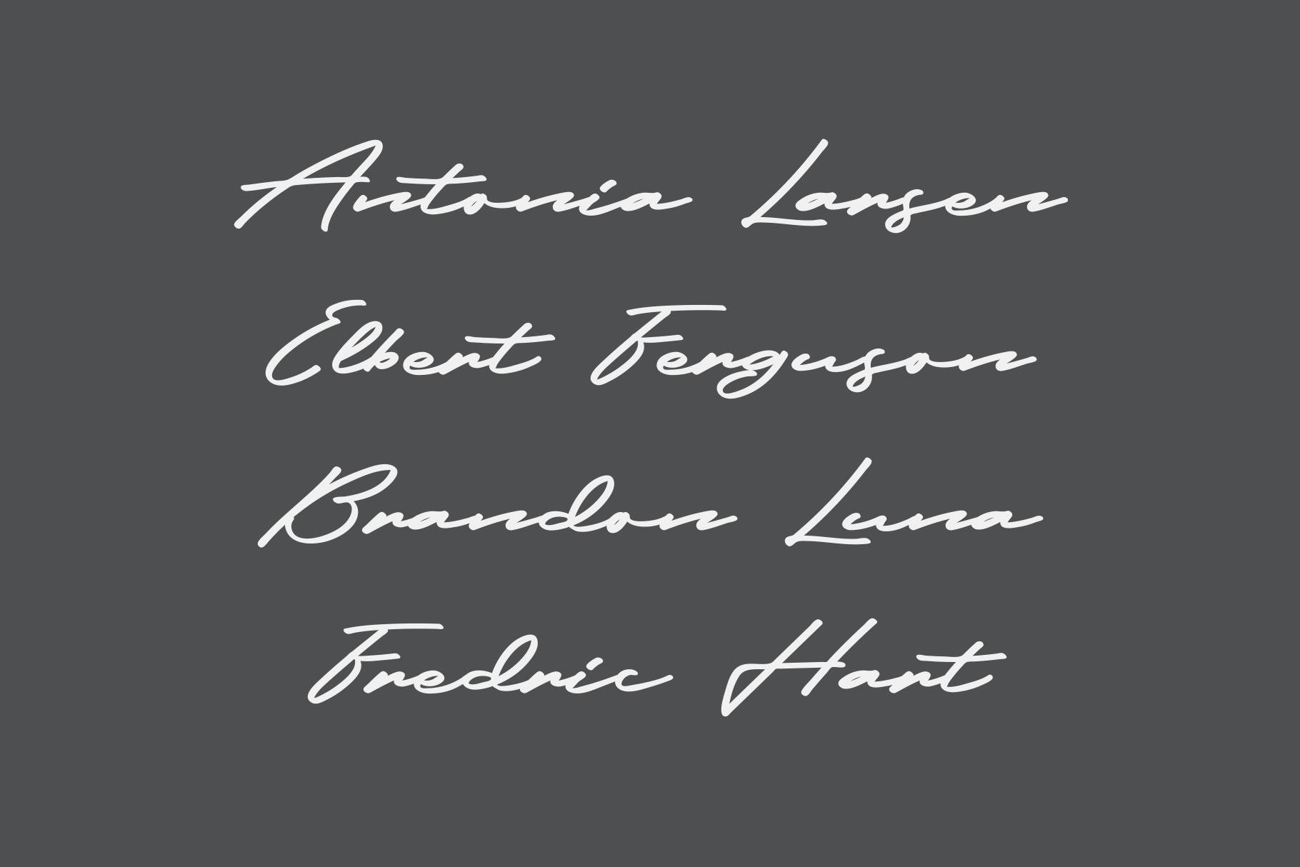 Frederick Free Font - script