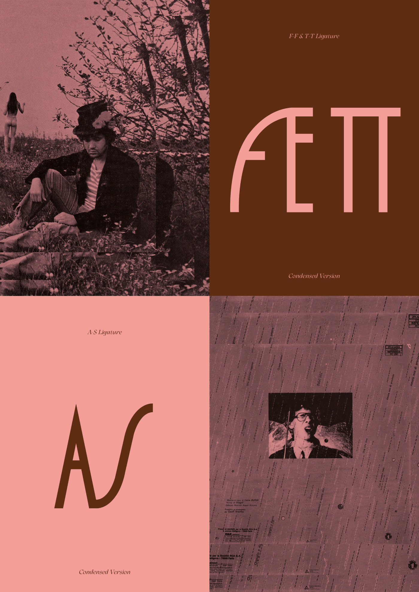 GELOSA CARA Free Font - decorative-display
