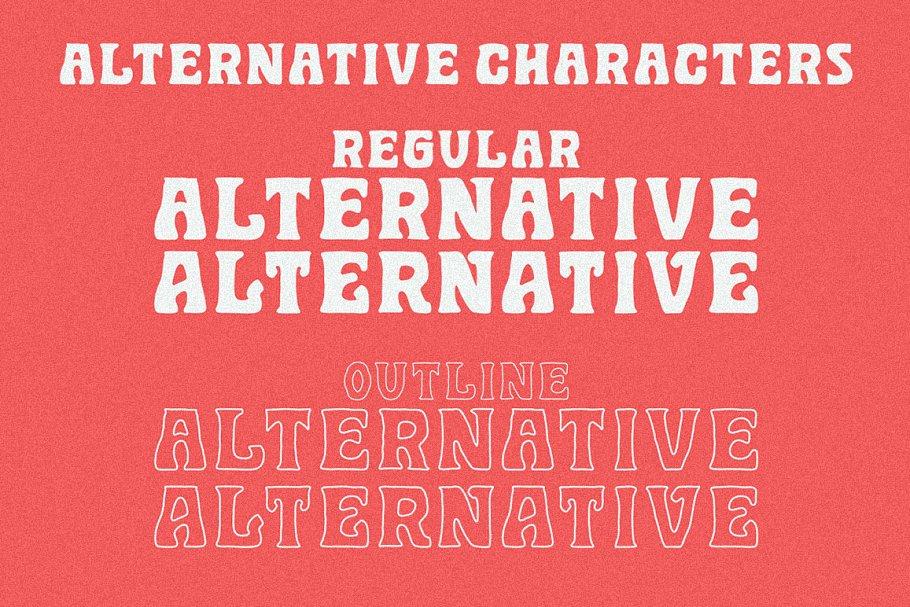 Golddrew Free Font - decorative