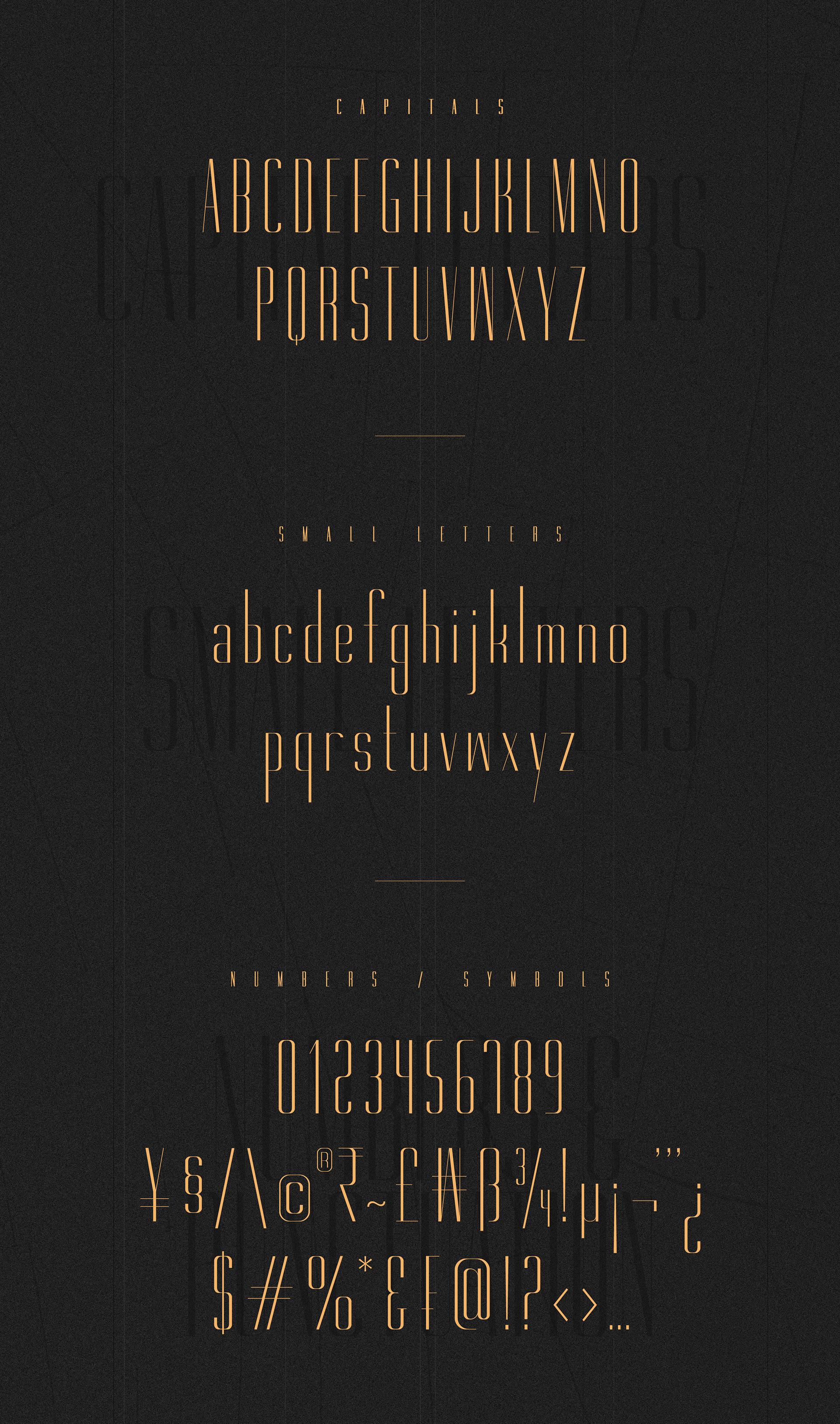Gorgeous Free Font Family - sans-serif