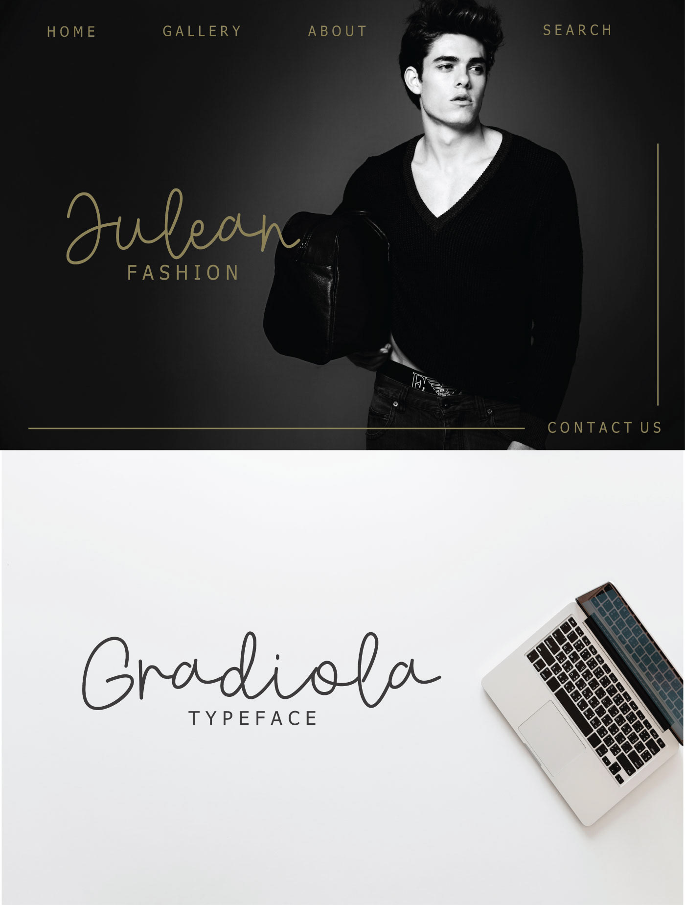 GRADIOLA Free Font - script