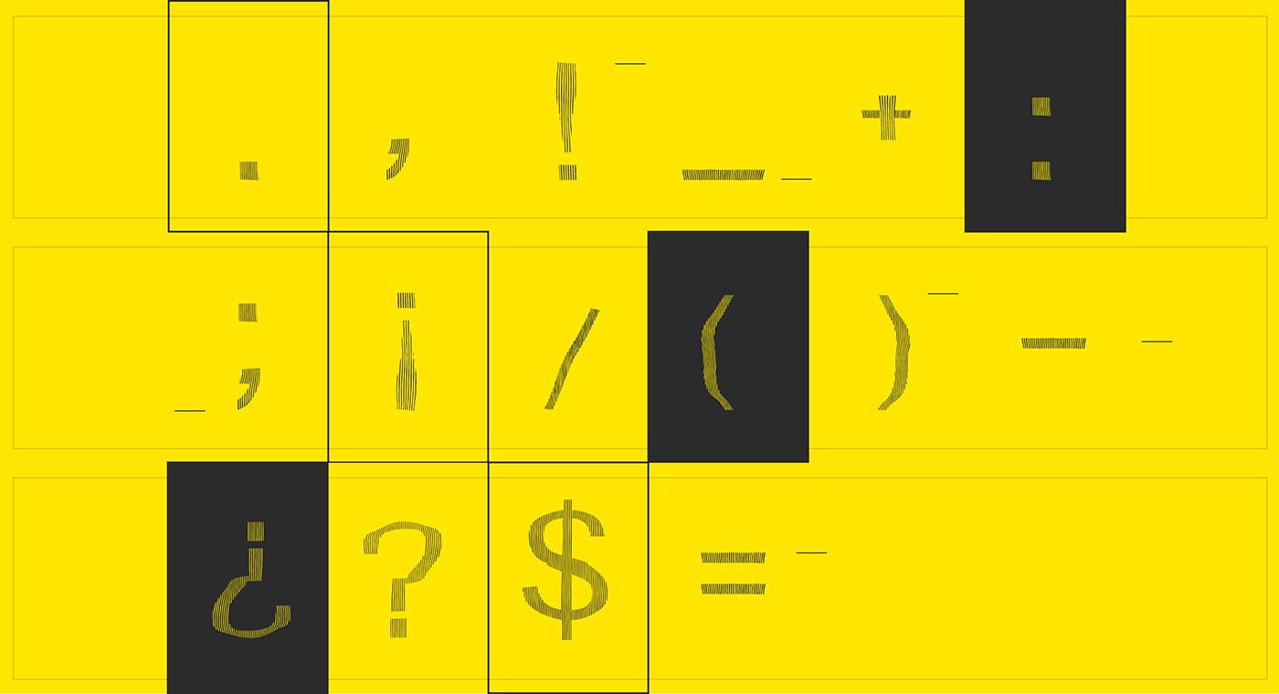 Hadron Sans Free Font - decorative-display