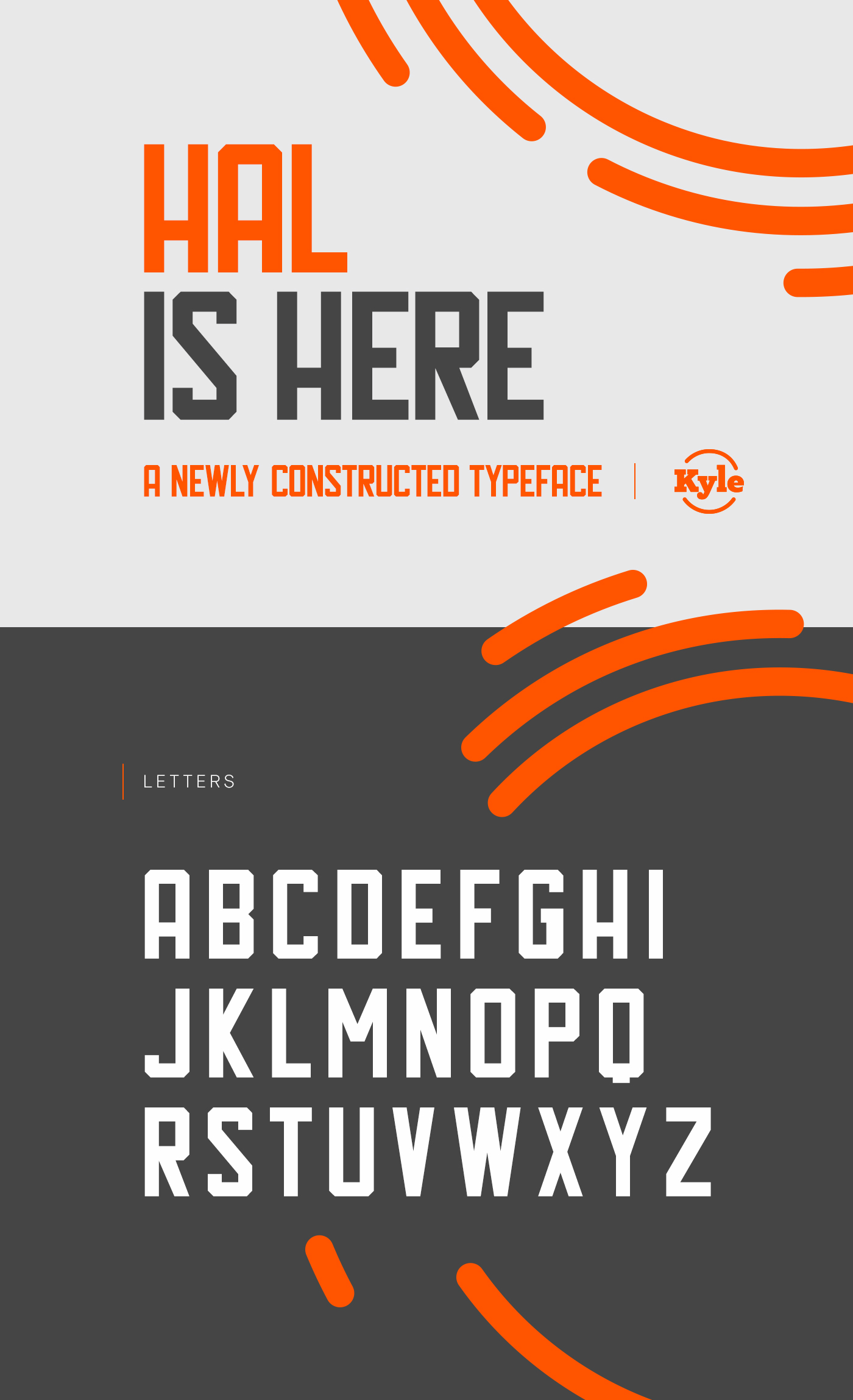 Hal Free Typeface - sans-serif