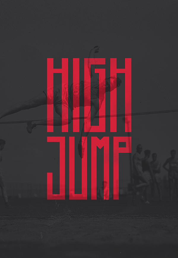Higher Free Font - sans-serif