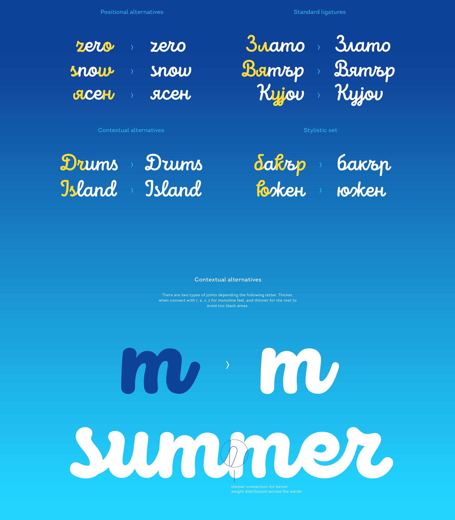 Intro Script Free Font - script