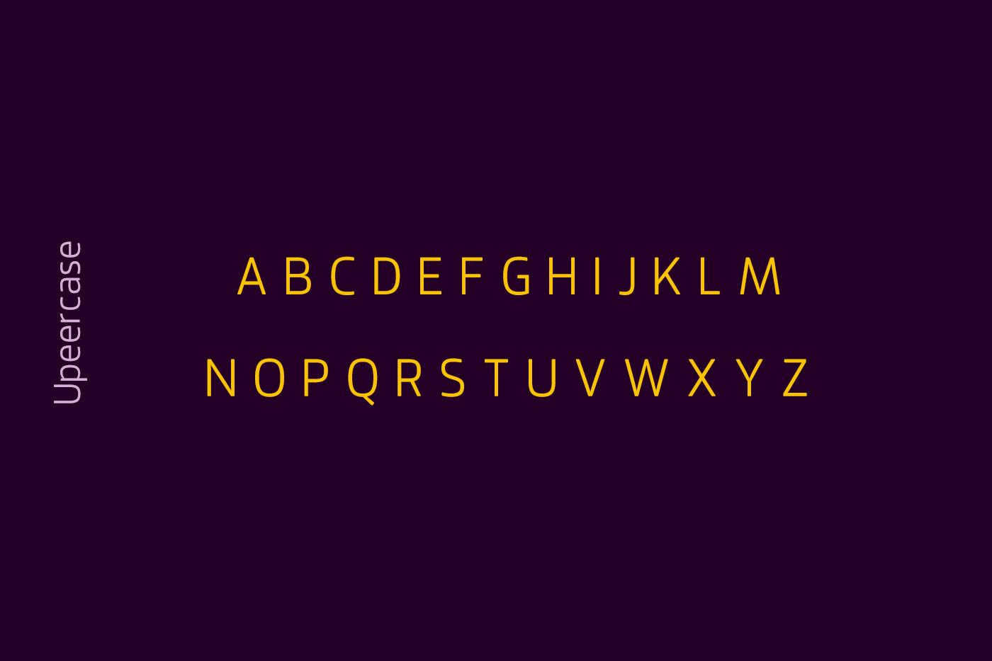 Jervinho Free Font - sans-serif