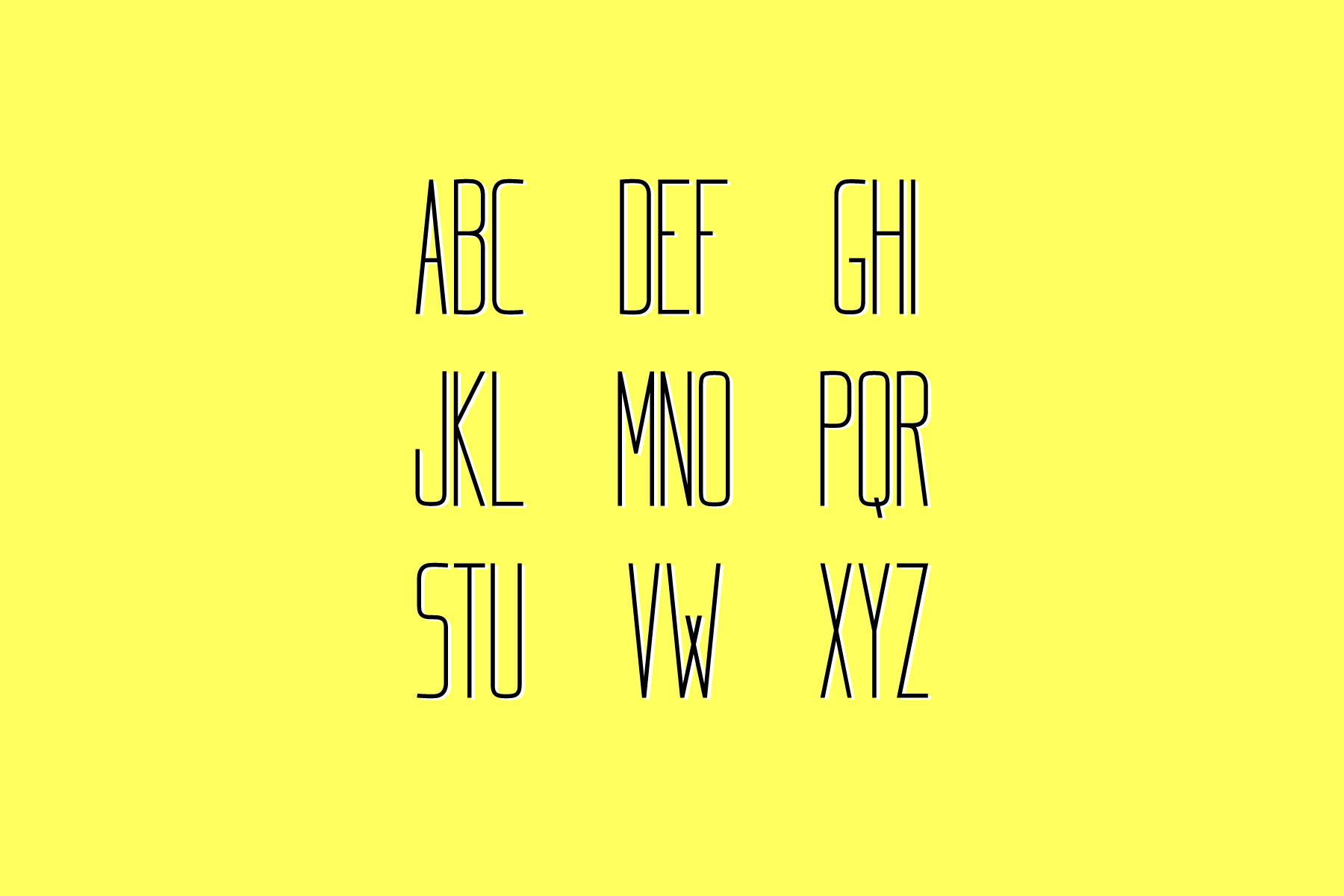 Kømpakt Free Font - sans-serif