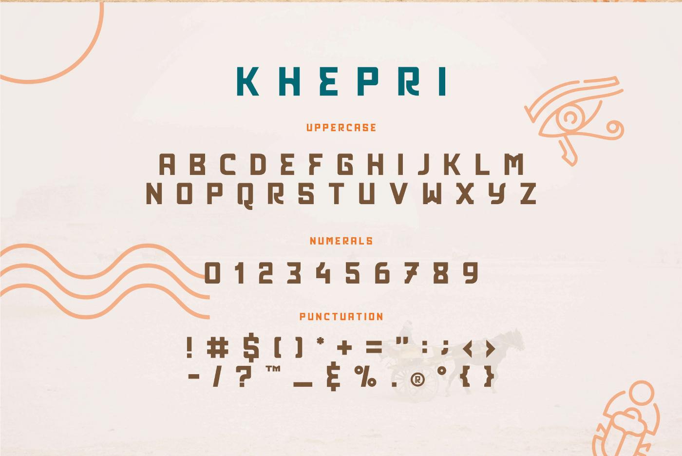 Khepri Free Font - sans-serif